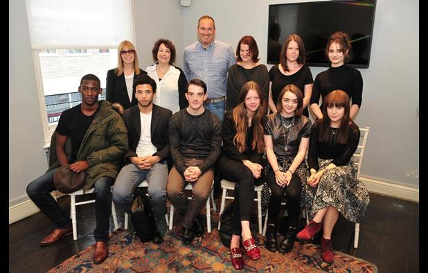 The Stars of Tomorrow and American casting experts at the masterclass